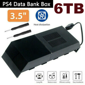 6TB PS4 External Hard Drive Extra Memory Storage Box For Playstation 4 Accessory