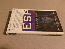Esp: Your Sixth Sense by Brad Steiger (1967, Vintage Paperback) 2nd printing
