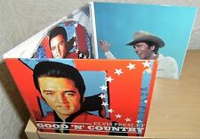 """ELVIS PRESLEY CD """"GOOD 'N' COUNTRY"""" 2015 WELCOME TO MY WORLD FADED LOVE SNOWBIRD"""