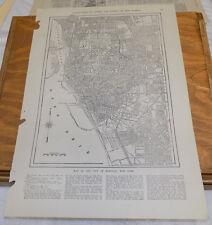 1912 Collier's City Map////BUFFALO, NEW YORK
