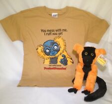 WOW! SALE NOW Red Ruffed Lemur Stuffed Animal & Matching T-Shirt - PocketFuzzies