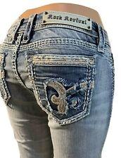 Rock Revival 28 X 34 Nancy Easy Straight Jeans