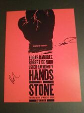 USHER RAYMOND & EDGAR RAMIREZ Authentic Hand-Signed HANDS OF STONE 11x14 Photo