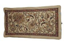 Ralph Lauren LRL Northern Cape Beige Tapestry Rug King Pillow Sham