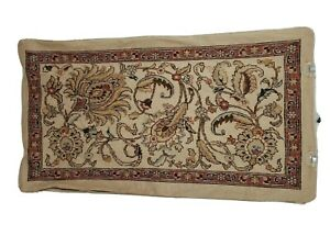 Ralph Lauren LRL Northern Cape Beige Tapestry Rug King Pillow Sham