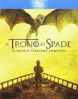 Il Trono di Spade - Stagione 5 - 4 Blu Ray - Slipcase - Nuovo Sigillato