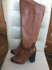 NEW VINCE CAMUTO SIDNEY WARM BROWN BUTTER KNEE HIGH BOOTS Size 7.5