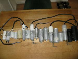 refrigeration start & run capacitors