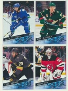 2020-21 UPPER DECK HOCKEY SERIES 2 Young Guns Pick Your Card Finish Your Set