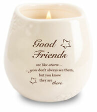 Friendship - Good Friend Candle in a Stoneware Jar Filled with Scented Soy Wax
