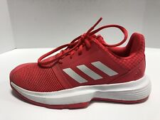 Adidas CourtJam XJ CG6154 Youth Girls Size 3M Red Running Shoes, Unisex