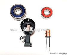 CS130D Alternator Repair Kit Delco Brush Holder Slip Ring Bearings Chevy GMC
