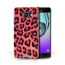 STUFF4 Phone Case Samsung Galaxy A Smartphone/Leopard Animal Skin/Print/Cover