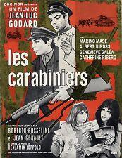 JEAN-LUC GODARD Collection of 4 vintage original French pressbooks