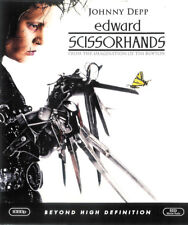 Edward Scissorhands ~ Johnny Depp Winona Ryder ~ Blu-ray ~ FREE Shipping USA
