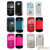 New Full Housing Cover Case Front Back Keypad Replacement For Nokia C3 C3-00