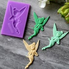 aus seller.. FAIRY - TINKERBELL  FONDANT/CHOCOLATE/SOAP  SILICONE MOULD new