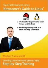Newcomer's Guide to Linux and RedHat   Software Training Tutorial    Brand New