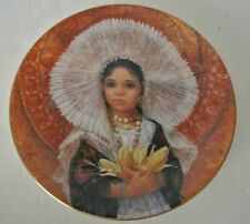 1984 Royal Doulton Festival Children Of The World Magdalena Collectors Plate 2nd