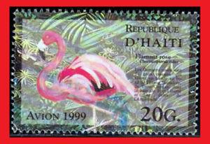 ZAYIX - 1991 Haiti 912 used - bird / flamingo