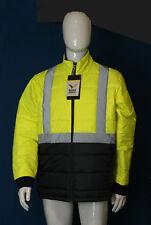 Rainbird Domain 8536 Hi-vis waterproof breathable insulated jacket : large