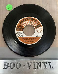 "THE VELVELETTES - NEEDLE IN A HAYSTACK MOTOWN YESTERYEAR 7"" VINYL RECORD EX CON"