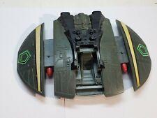 Vintage Cylon Raider ship Battlestar Galactica Missiles do not shoot out