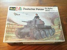 Revell Italaerei Deutscher Panzer Pz. Kpfw. 38(t) H-2102 1974 1:35 Modellbau