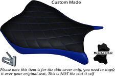Diamante Stitch Azul personalizado se adapta a Honda Cbr 1000 Rr 13-15 delantera cubierta de asiento