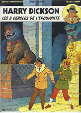 BD Harry Dickson  N°3 - Les 3 cercles de l'épouvante- E.O- 1990 -TBE- Zanon P.J.