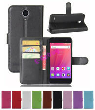 For ZTE blade A520 Flip Magnetic Card Wallet PU Leather Skin Case Stand Cover