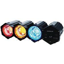 Lichtorgel Stimmungslampe 3 LED Discospot Spot Strahler Farbe Effekt Party Licht