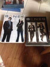 (2) Bones Season DVD Lot: Bones Seasons 1 & 2     10 DVDs    w/Slipcovers