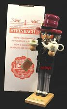 "Steinbach German Wooden Nutcracker ""Mad Hatter"" S 858 Sig. Christian Steinbach"