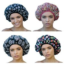 Dilly's Collections Luxury MICROFIBRE XL Extra Large Shower Cap Bath Long Hair
