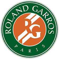 "Roland Garros French Open Tennis Car Bumper Window Sticker Decal 4.6""X4.6"""