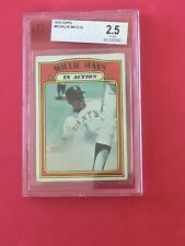 1972 Topps #50 Willie Mays