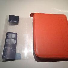 Filofax Pennybridge A5 zipped folder Tangerine