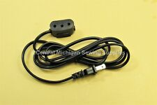 NEW SINGER SEWING MACHINE POWER CORD fits 301, 401, 403, 404, 15-91, 201, 201K