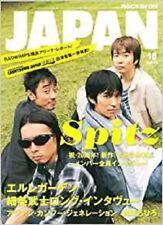 ROCKIN'ON JAPAN October 2007 10 Japanese magazine Music Book 20th Spitz