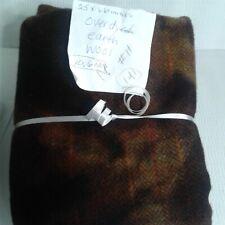 New listing N#11 100% Wool Rebecca Erb 3/4 Yd Overdyed Earth 10.6 Oz Rug Hooking Applique