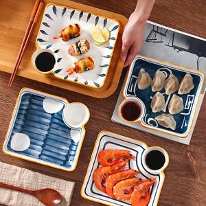 """""""Japanese Style v2"""" Dishes Dinner Plates Sushi Plate Restaurant Dinnerware Set"""