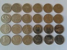 BEST PRICE! Full SET Latvia 1 LATS 24 pcs 2001-2013 CuNi in very nice condition!