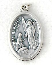 ST RAPHAEL ARCHANGEL Catholic medal charm patron doctors, blind, pharmacists NEW