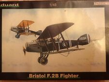 Eduard 1/48 scale Bristol F.2B Fighter, Profipack; OOP; 8127; 2005 PLAIN BOX!