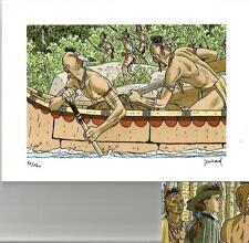 A. Juillard puzzle + magnet de l'exposition – « Les indiens du Canada »