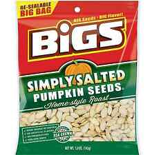 BIGS Simply Salted Pumpkin Seeds, 5-ounce Bags $6.99 FREE SHIPPING EXP 03/05/19