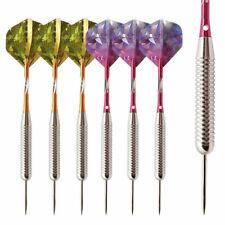 6Pcs Professional Competition Metal Steel Needle Tip Darts Set W/Box 25g