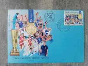 SERBIA European champion in volleyball Women FDC