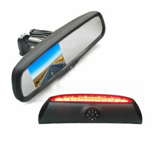 Parking Reverse Camera + Replacement Rear View Mirror Monitor for Iveco Daily